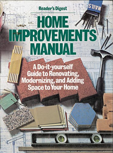 9780895771322: Reader's Digest Home Improvements Manual