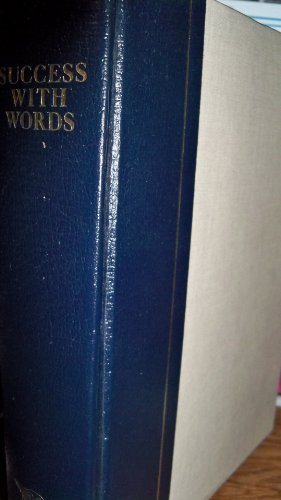 Success With Words: A North American Guide to the English Language: Readers Digest; Davies, Peter