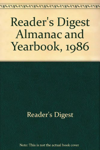 9780895772169: Reader's Digest Almanac and Yearbook, 1986