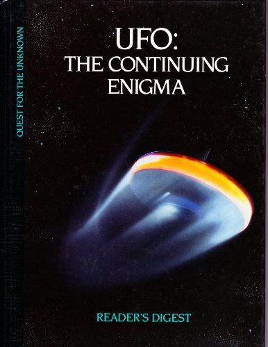 9780895773975: UFO: The Continuing Enigma (Quest for the Unknown)