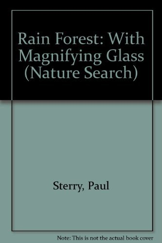 9780895774484: Rain Forest: With Magnifying Glass (Nature Search)