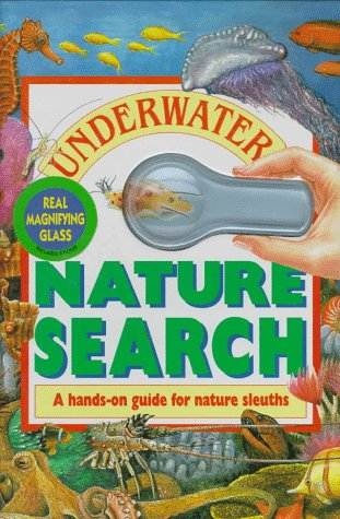 9780895774491: Underwater Nature Search/With Magnifying Glass