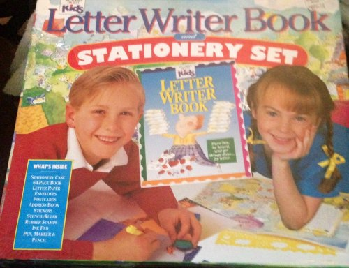 9780895775184: Letter Writer Book and Stationary Set/Stationary Case, 64-Page Book, Letter Paper, Envelopes, Postcards, Address Book, Stickers, Stencil/Ruler, Rubbe