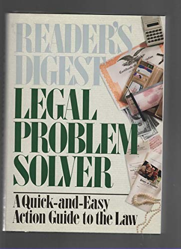 9780895775504: Legal Problem Solver: A Quick-and-Easy Action Guide to the Law