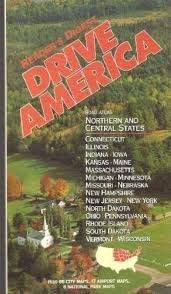 9780895778437: Drive America: Road Atlas Northern and Central States with 66 City Maps, 17 Airport Maps , 6 National Park Maps
