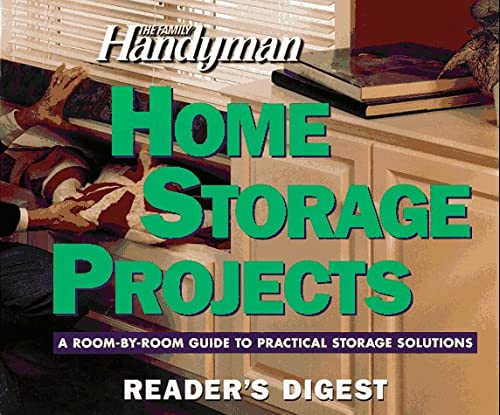 The Family Handyman: Home Storage Projects (0895778890) by Editors of Reader's Digest