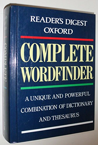 9780895778949: Reader's Digest Oxford Complete Wordfinder