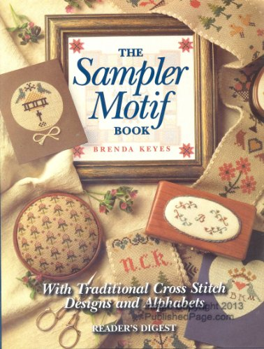 9780895779182: Sampler Motif Book: With Traditional Cross-Stitch Designs and Alphabets