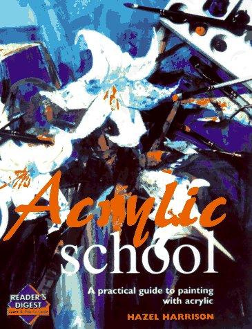 9780895779298: Acrylic school (Learn as You Go)