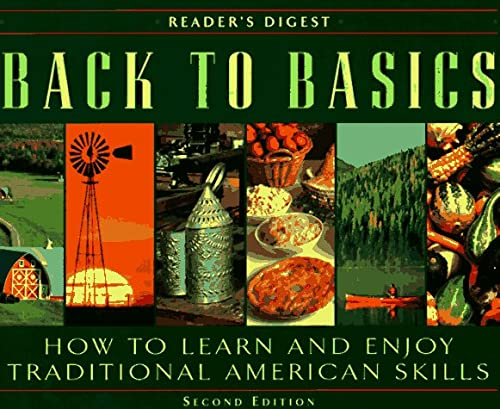 9780895779397: Back to Basics: How to Learn and Enjoy Traditional American Skills (Second Edition)