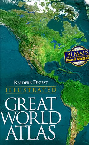 9780895779885: Reader's Digest Illustrated Great World Atlas