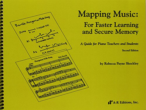 9780895793973: Mapping Music: For Faster Learning and Secure Memory, A Guide for Piano Teachers and Students