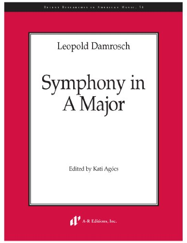 9780895795823: Symphony in A Major (Recent Researches in American Music)