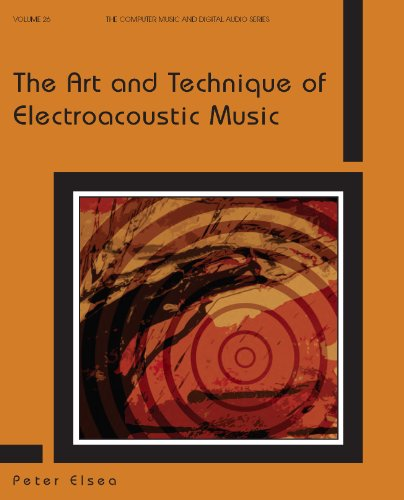 9780895797414: The Art and Technique of Electroacoustic Music (Computer Music and Digital Audio Series)