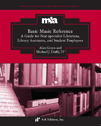9780895797452: Basic Music Reference: A Guide for Non-specialist Librarians, Library Assistants, and Student Employees