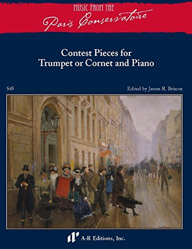 9780895798145: Contest Pieces for Trumpet or Cornet and Piano (Music from the Paris Conservatoire)