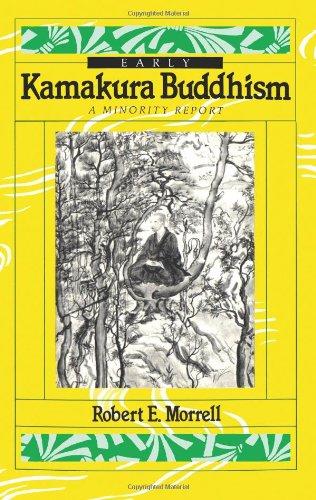 9780895818508: Early Kamakura Buddhism: A Minority Report