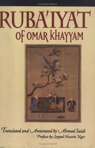 Ruba'iyat of Omar Khayyam: Ahmad Saidi, Ahmed