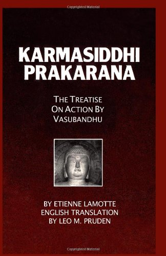 9780895819086: Karmasiddhiprakarana: The Treatise on Action by Vasubandhu