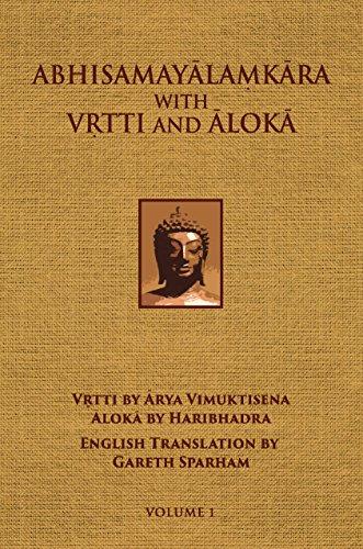 9780895819918: Abhisamayalamkara with Vrtti And Aloka - Volume 1