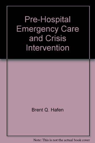 9780895821065: Prehospital Emergency Care & Crisis Intervention Workbook