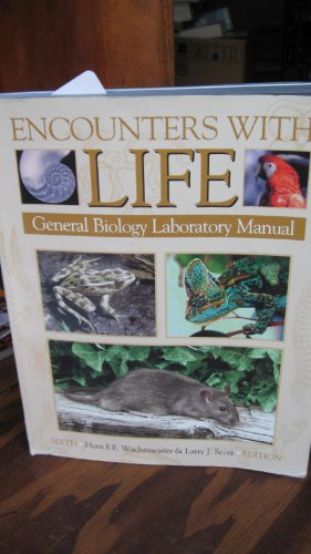 9780895825865: Encounters with Life: General Biology Laboratory Manual