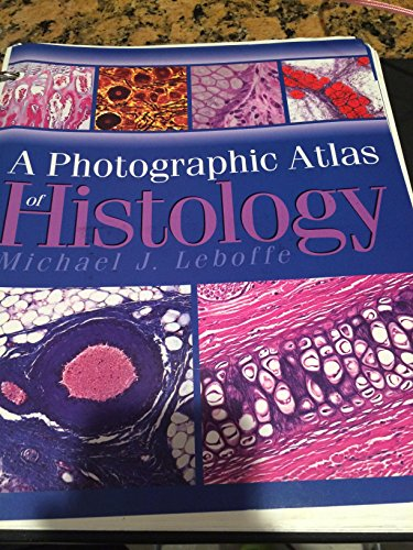 9780895826053: A Photographic Atlas of Histology