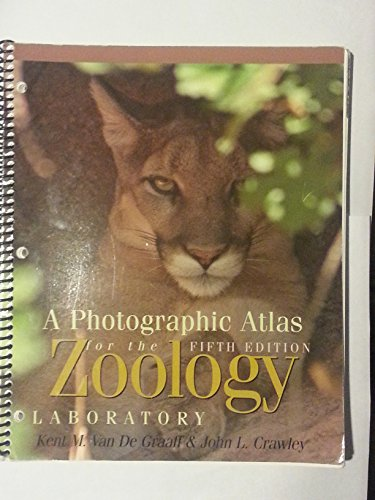 9780895826657: A Photographic Atlas for the Zoology Laboratory