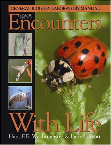 9780895826855: Encounters With Life: General Biology Laboratory Manual