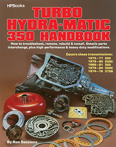Turbo Hydra-Matic 350 Handbook (0895860511) by Ron Sessions