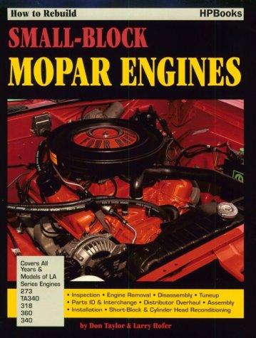9780895861283: How to Rebuild Small-Block Mopar Engines