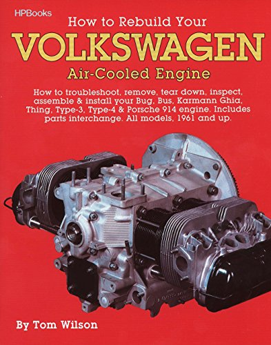 9780895862259: How to Rebuild Your Volkswagen air-Cooled Engine (All models, 1961 and up)