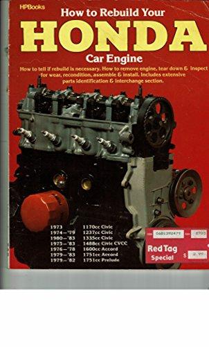 9780895862563: How To Rebuild Your Honda Car Engine