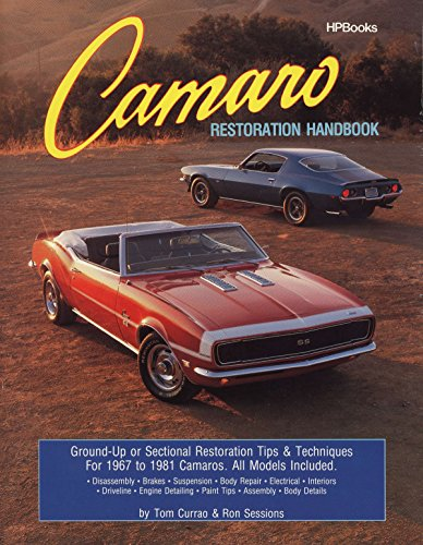 Camaro Restoration Handbook HPBooks 758 (0895863758) by Ron Sessions