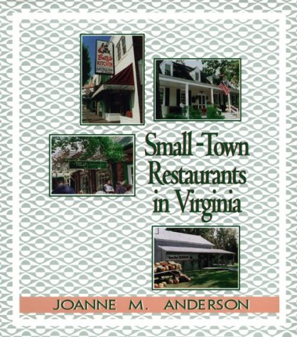 9780895872111: Small-Town Restaurants in Virginia