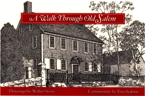 9780895872319: A Walk Through Old Salem
