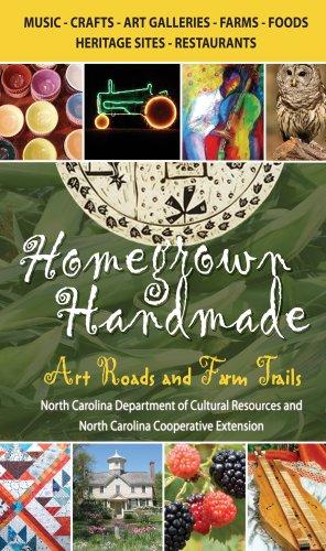 9780895873552: Homegrown Handmade: Art Roads and Farm Trails