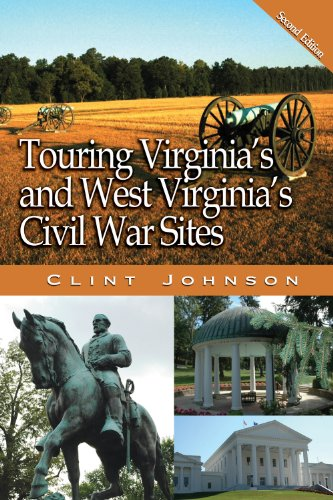 9780895874023: Touring Virginia's and West Virginia's Civil War Sites (Touring the Backroads)