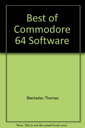 9780895881946: Best of Commodore 64 Software (SYBEX computer books)