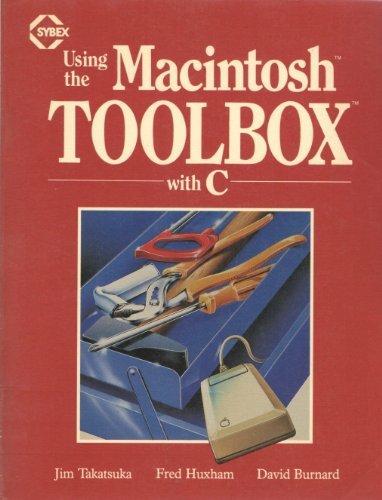 Using the Macintosh Toolbox with C.: Takatsuka, J., etc.