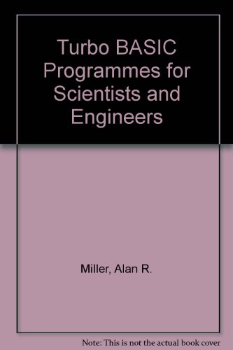 9780895884299: Turbo BASIC Programmes for Scientists and Engineers