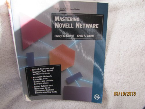 9780895886309: Mastering Novell Netware
