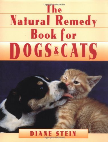 9780895946867: The Natural Remedy Book for Dogs & Cats