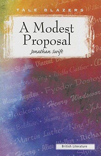 9780895987389: A Modest Proposal (Tale Blazers: British Literature)
