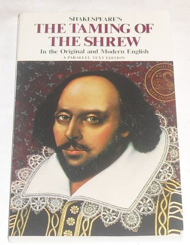9780895988577: The Taming of the Shrew Parallel Text (Shakespeare Parallel Text Series)