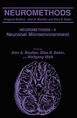Neuromethods: Boulton, Alan A.; Baker, Glen B.