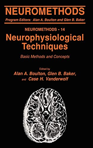 9780896031609: Neurophysiological Techniques: Basic Methods and Concepts
