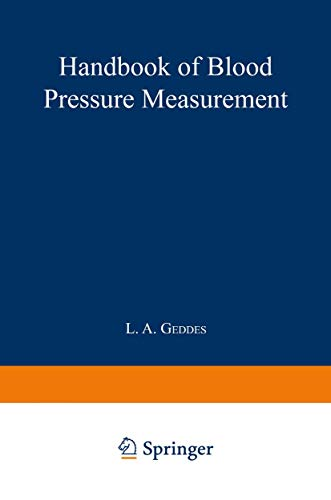 9780896031944: Handbook of Blood Pressure Measurement