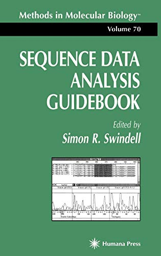 9780896033580: Sequence Data Analysis Guidebook: Pt. 3 (Methods in Molecular Biology)