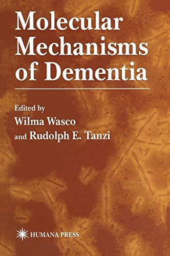 9780896033719: Molecular Mechanisms of Dementia (Contemporary Neuroscience)